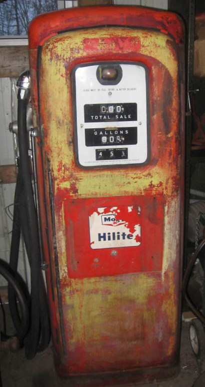 Martin Schwartz Model 80 Gas Pump Parts Circa 1951 Vics 66 - Bennett Pump Wiring Diagram