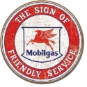 Mobil Friedly Service Sign