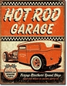 Hot Rod Garage Sign