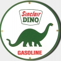 National A-38 Gas Pump Porcelain Signs