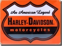 Harley Davidson Motorcycle Signs