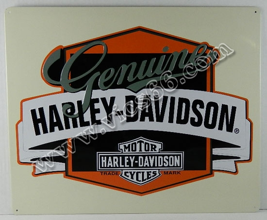 Harley Davidson Portland >> Harley Davidson, Indian & General Motorcycle Signs - Vic's ...