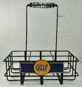 Gulf Oil Bottle Rack
