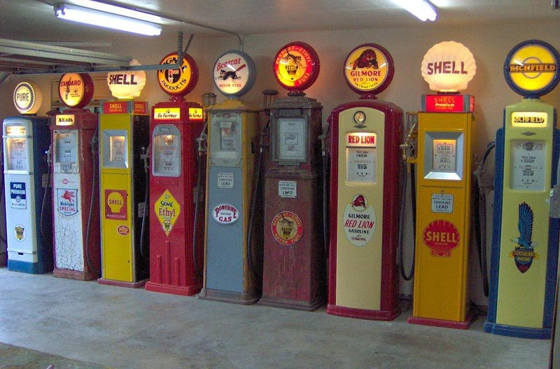Vic S 66 Gas Pump Parts Globes And Memorabilia