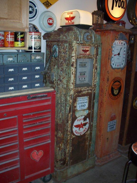 Cars For Sale Portland Oregon >> Matt's Gas Pumps - Vic's 66 - Gas Pump Parts, Globes and ...